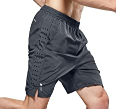 DEVOPS Boys 2 Pack Cool Chain 10-inch Loose-Fit Workout Training Shorts