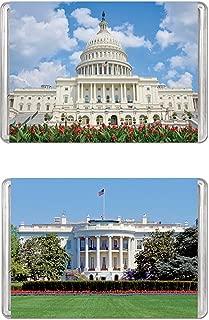 Minipix Puzzles - Bundle of 2 Puzzles - United States Capitol & The White House