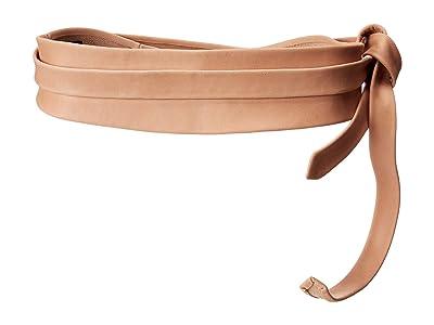 ADA Collection Obi Classic Wrap Belt (Rose (Texas Leather)) Women