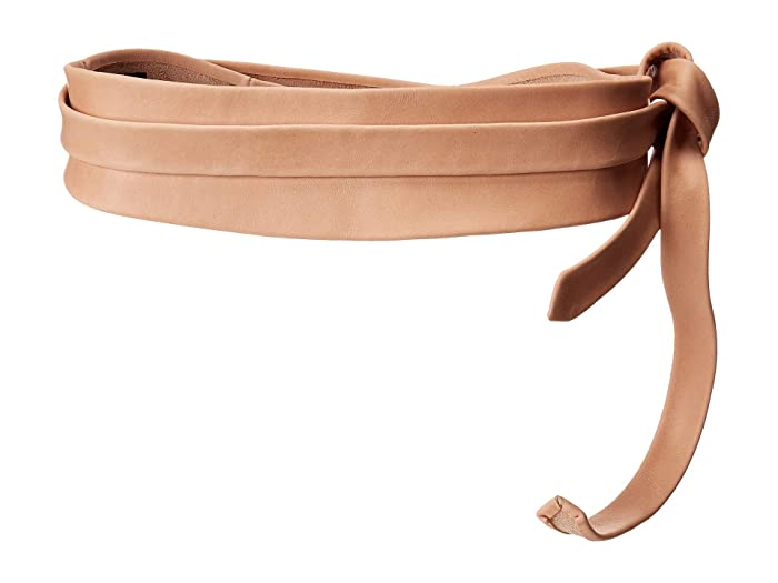 ADA Collection Obi Classic Wrap Belt (Rose (Texas Leather)) Women