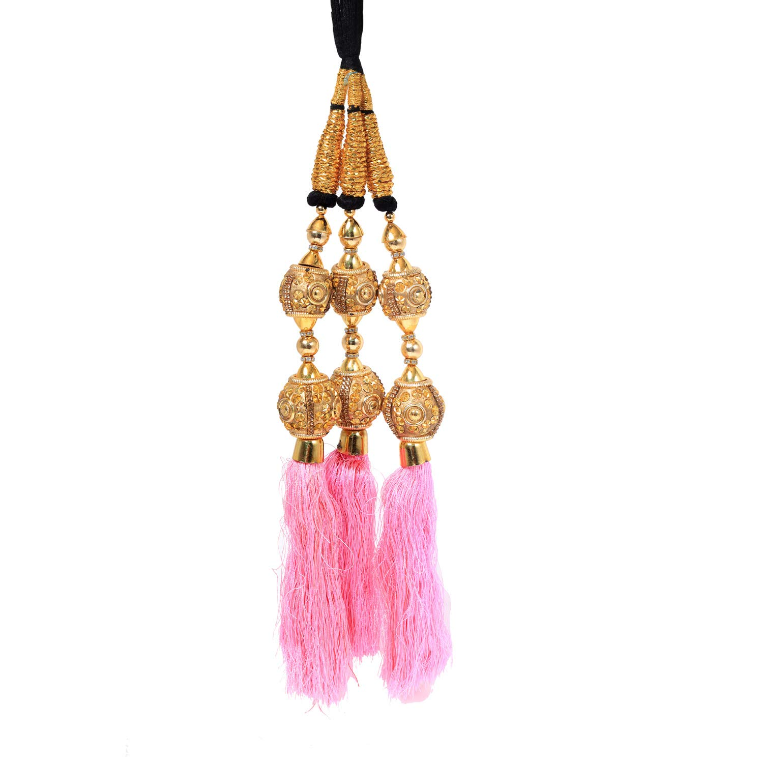SANARA Indian Bollywood Girl's Long Extensions for Hair Nippon regular agency Tassels Year-end annual account