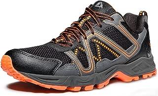 TSLA Men's Outdoor Sneakers Trail Running Shoe