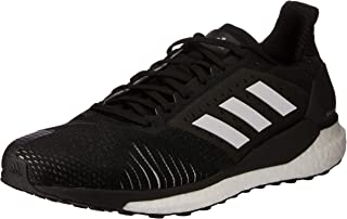 adidas Australia Men's Solar Glide ST Running Shoes, Core Black/Footwear White/Grey