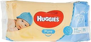Huggies Pure babydoekjes, 56 stuks