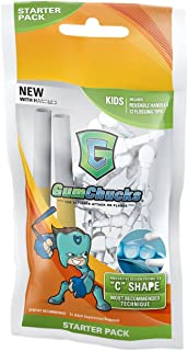 GumChucks | Faster, Easier Flossing! | Kids Floss Starter Pack | Reusable Handles + Universal Flossing Tips