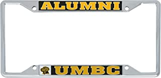 Desert Cactus University of Maryland Baltimore County UMBC Retrievers NCAA Metal License Plate Frame for Front Back of Car Officially Licensed (Alumni)