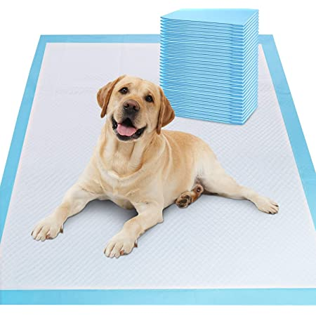 DONKO Puppy Pet Training Pads/Pack -10 Count/Size: L-60 X H- 90 cm|Potty Pads with Quick Drying|Absorbent Core Suitable for Small and Large Breed Puppy
