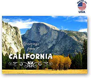 GREETINGS FROM CALIFORNIA postcard set of 20 identical postcards. CA post cards. Made in USA.