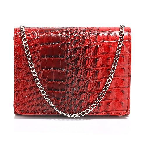 bdbb52ef86 Crocodile Pattern Clutch Purse Animal Print Handbag Women Bag Large Size  Ladies New Designer Style