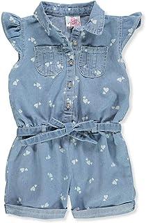 839670e0c5d Amazon.com  Little Girls (2-6x) - Jumpsuits   Rompers   Clothing ...