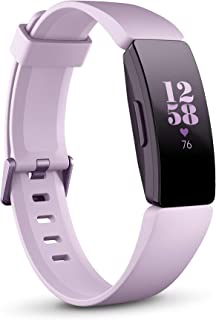 Fitbit Inspire HR Health & Fitness Tracker with Auto-Exercise Recognition, 5 Day Battery, Sleep & Swim Tracking, Lilac/Lilac