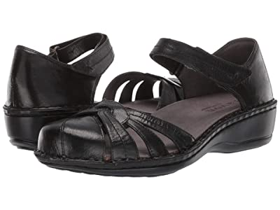 Aravon Clarissa (Black Leather) Women