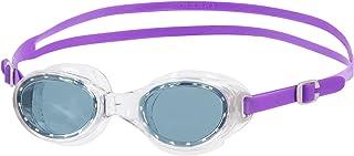Womens Speedo Futura Classic Swimming Goggles in purple/smoke.