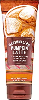Bath and Body Works MARSHMALLOW PUMPKIN LATTE Ultra Shea Body Cream 8 Ounce (2019 Edition)