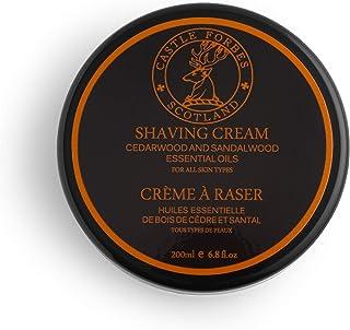 Castle Forbes Shaving Cream Cedarwood & Sandalwood Oils, 200 g