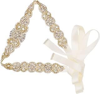 Best gold wedding sash Reviews