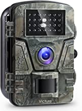 """Victure Wildlife Camera 1080P 12MP Trail Game Camera Motion Activated Night Vision with 2.4"""" LCD Display IP66 Waterproof Design for Wildlife Hunting and Home Security"""