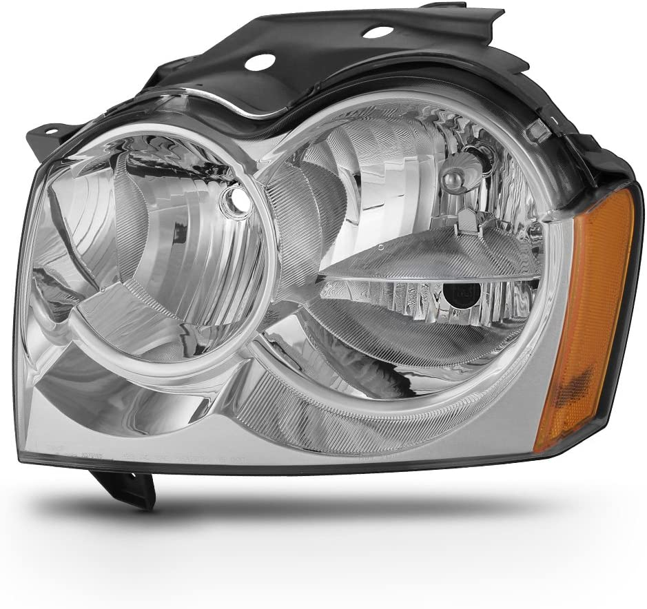 ACANII - For 2005-2007 Jeep 正規店 Headlight Cherokee Replacement Grand ご予約品