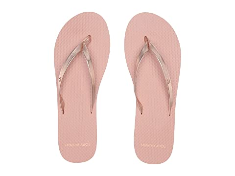 f0e9eacb48a2 Tory Burch Metallic Leather Flip-Flop at Zappos.com