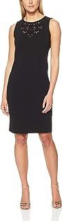 Womens Cutout Yoke Sheath Dress