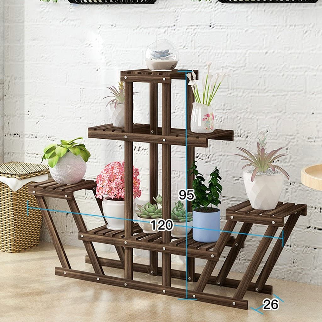 Zhangmeiren Flower Stand 4-Story Indoor Free shipping on posting reviews Spring new work one after another So Classic Display