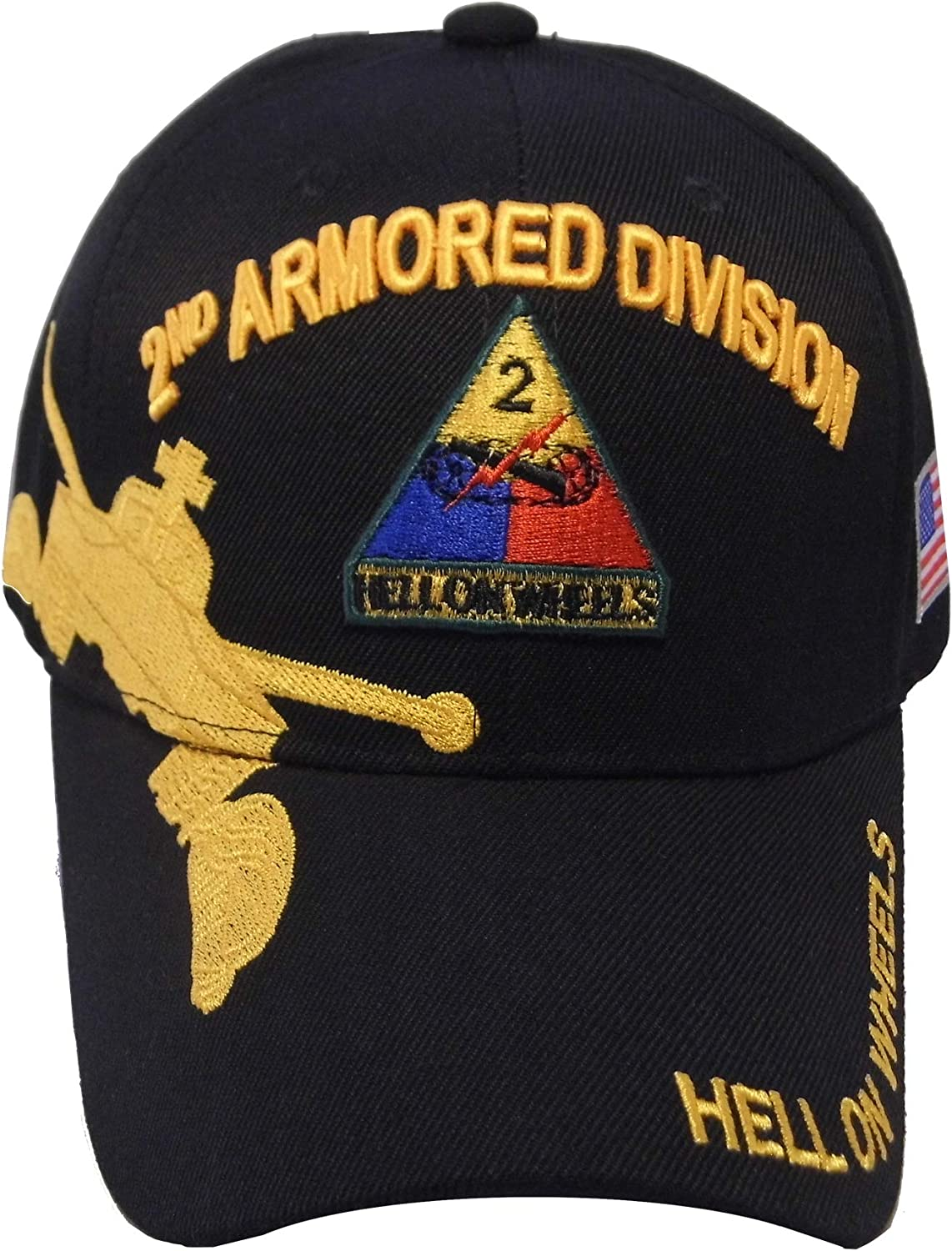 US Warriors U.S. Army 1st 2nd Division Baseball Colorado Springs Mall Hat Armored low-pricing 3rd