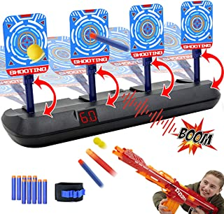 Electric Scoring Target for Nerf Guns - Auto Reset Intelligent Light Sound Effect Digital Shooting Targets, Ideal Gift Toy...