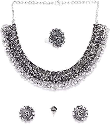 Silver Plated Silver Jewellery Set for Women