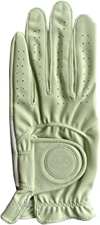 Bella Womens Crystal Magnetic Fashion Golf Glove - Green Small Left Hand