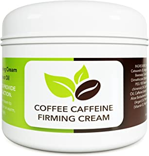 Coconut Cellulite Cream with Caffeine – Natural Stretch Mark Treatment – Best..