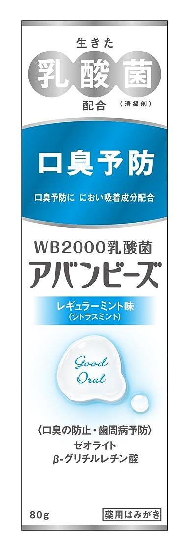 熱ストレンジャー十億わかもと製薬 アバンビーズ レギュラーミント味 80g