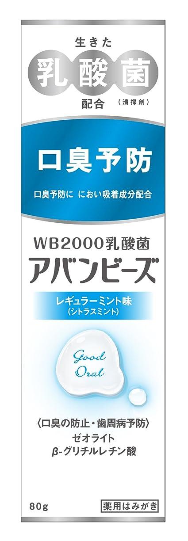 花弁入場料漫画わかもと製薬 アバンビーズ レギュラーミント味 80g