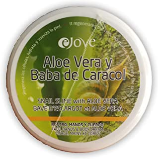 Ejove EJ017 - Crema con Aloe Vera y Baba de Caracol 200 ml