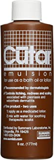 Cutar Emulsion Tar Solution For Bath Oil or Lotion - 6oz, Pack of 4
