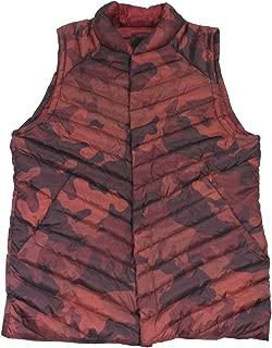 Lululemon Mens Smokescreen Camo Terracotta Snap Down Vest