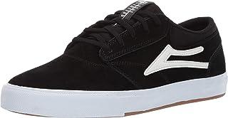 Lakai Footwear Griffin Black Suedesize Tennis Shoe, Black Suede