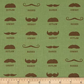 Honky Tonk mustache green