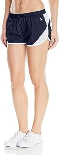 Women's Woven Mesh Insert Short