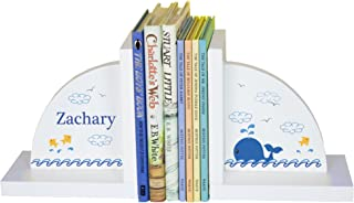 MyBambino Boys's Whale Personalized Bookends