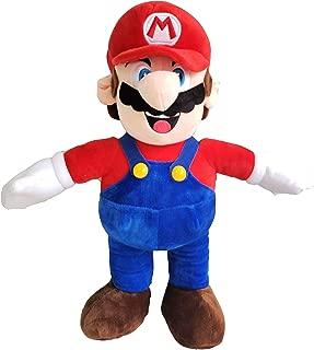 illuOKey Super Mario Plush Doll Mario Soft Stuffed Plush Toys - 16.5 inches (Mario)