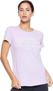 Champion Women's 111438 VS039LVD crew neck t-shirt 111438 VS039LVD