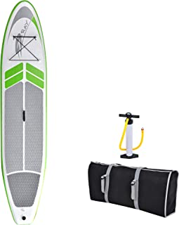 Blue Wave Sports Manta Ray Inflatable Stand Up Paddleboard with Hand Pump, 12-Feet