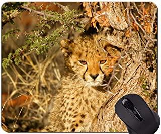Gaming Mouse Pad Custom,Leopard Leopard Mouse Pad With Stitched Edge