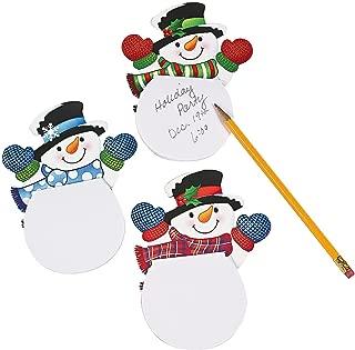 Waving Snowman Notepads (24 Pack) Paper. 4