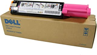 Genuine Dell, Brand New, and Factory Sealed +++ Dell 3100CN Magenta Toner (4,000 Yield) (OEM# 310-5730), Part Number [Dell...
