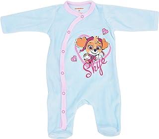Babybogi Paw Patrol Baby Strampler Langarm Sky | Größe 56 62 68 74 80 86 92 | Nickelodeon Spielanzug für Mädchen | Kind Schlafanzug
