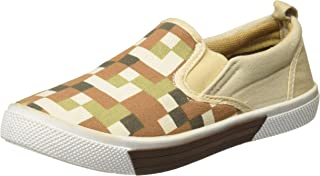 Poppers by Pantaloons Boy's Beige Moccasins-11.5 Kids UK (32 EU) (880001005)