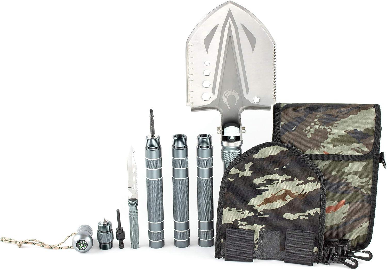 FYREBLU Tactical Bargain Shovel Multitool - Kit Year-end gift Folding Survival Survi