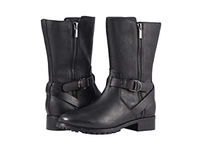 SoftWalk Marlowe (Black Smooth) Women