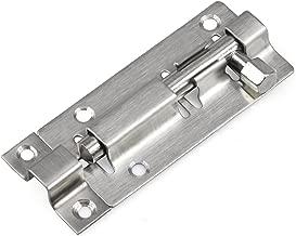 TRIXES Door Lock 75mm for Bathroom Toilet Shed Bedroom Catch Latch Easy Fit